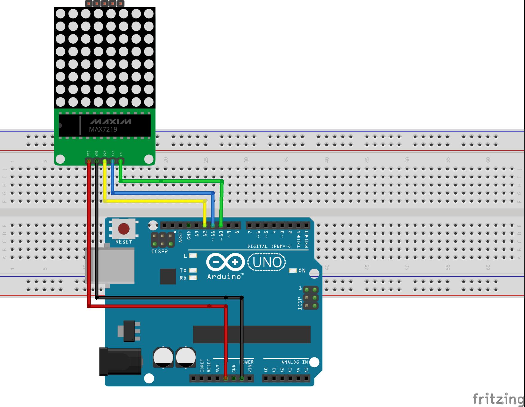 arduino 8x8 led matrix tutorial - educ8s tv