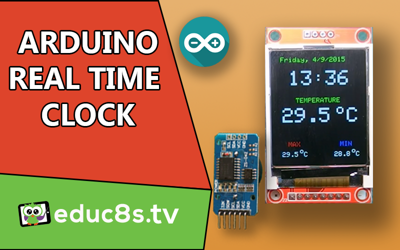 Color Real Time Clock