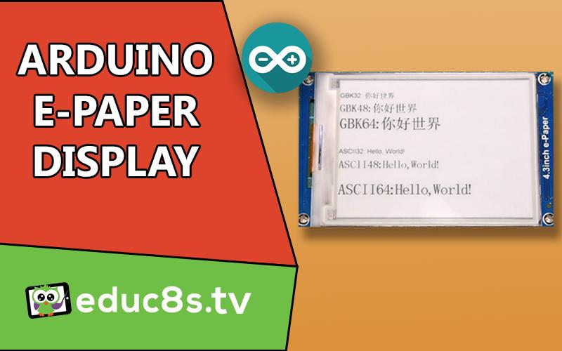 Arduino E-Paper
