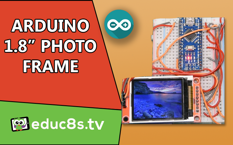 Arduino DIY Photo Frame