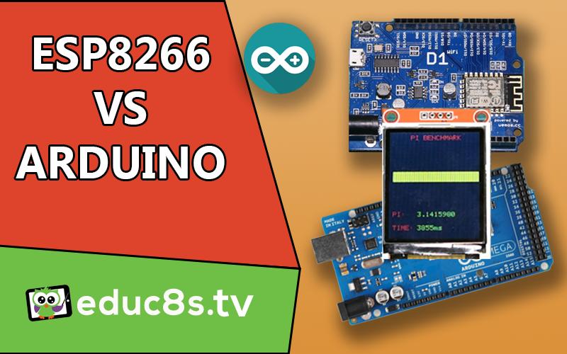 ESP8266 vs Arduino