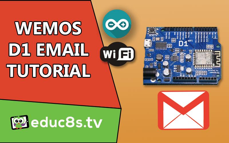 Arduino ESP8266 email
