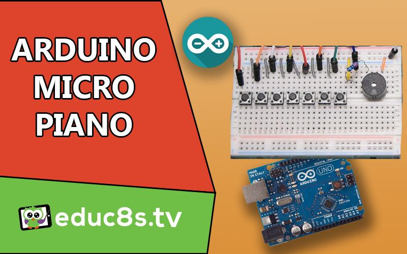 Arduino Micro Piano