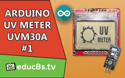 Arduino UV meter