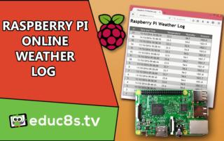Raspberry Pi Online Weather Log