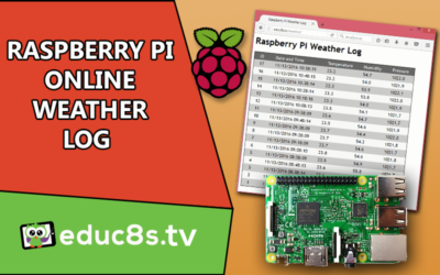 Raspberry Pi Online Weather Log