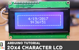 Arduino 20x4 Character LCD