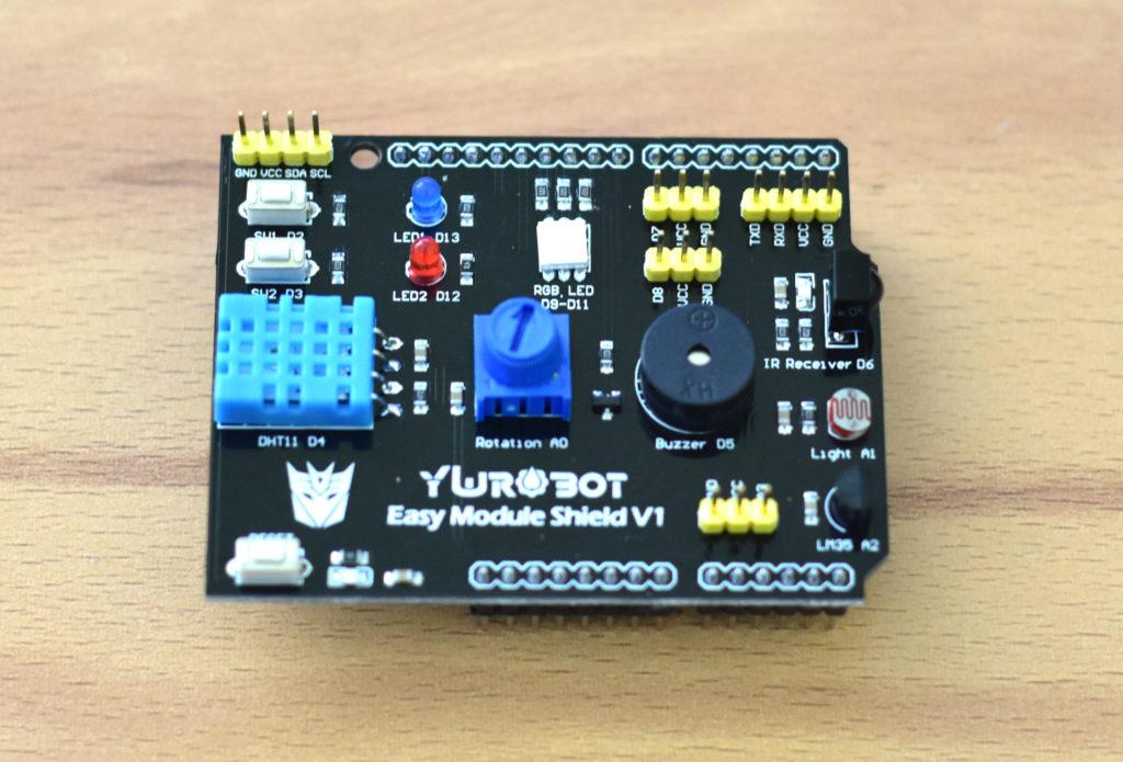 YuRobot Easy Module shield