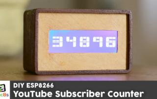 DIY YouTube Subscriber Counter