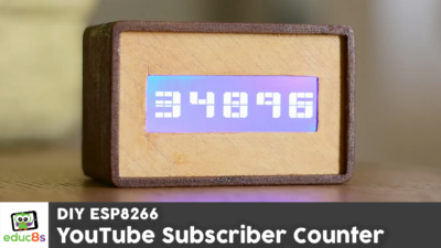 DIY YouTube Subscriber Counter