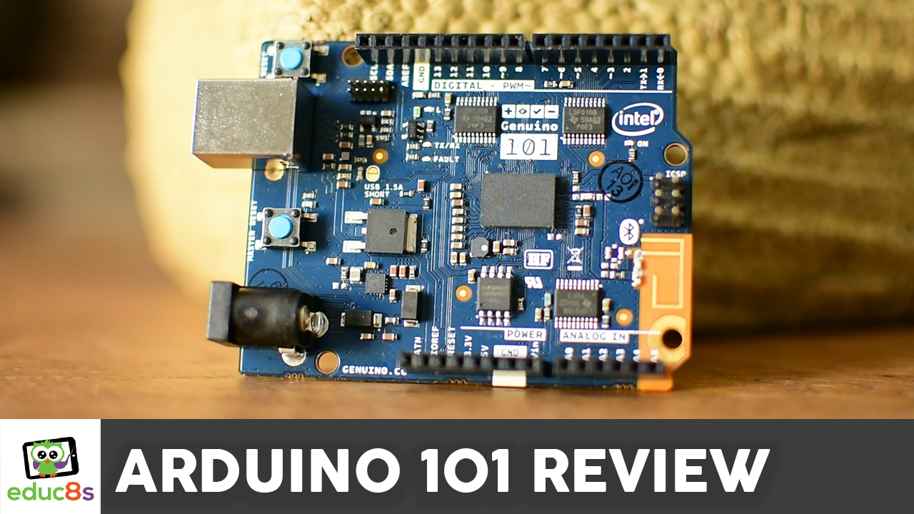 Arduino review educ s tv watch learn build