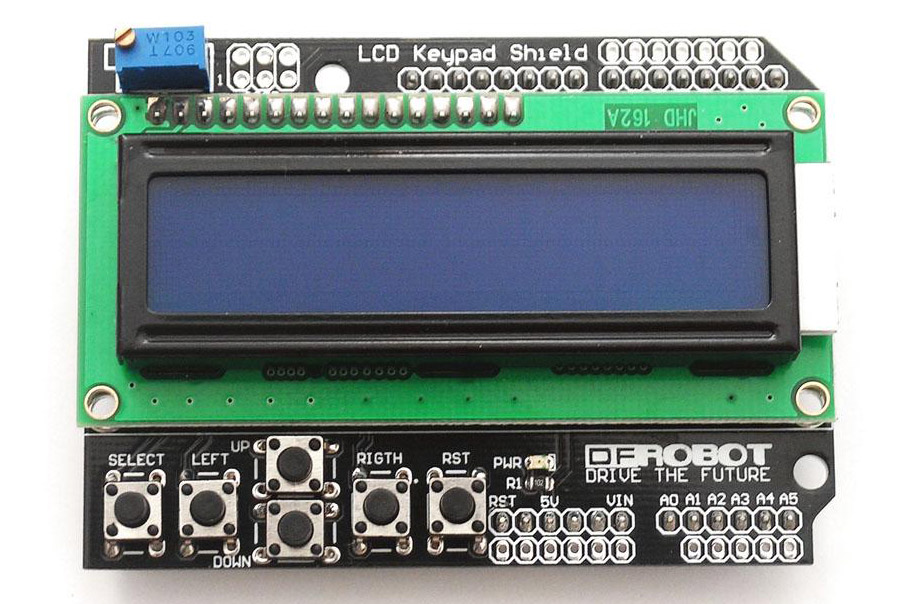 LCD Shield - One of the top 10 Arduino Shields!