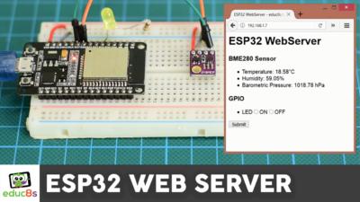 ESP32 Web Server