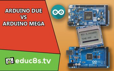 Arduino DUE vs Arduino Mega