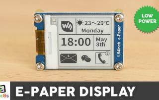 Arduino E-Paper Display