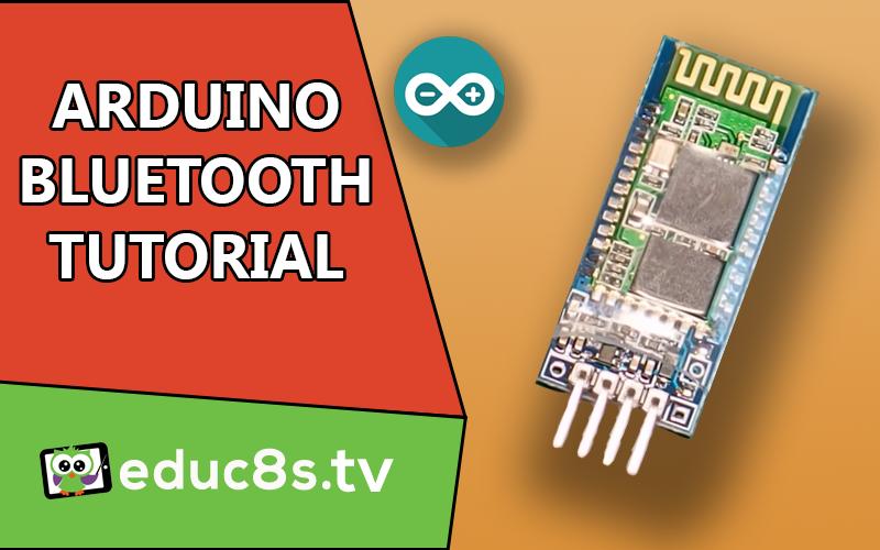 Arduino bluetooth tutorial educ s tv watch learn build