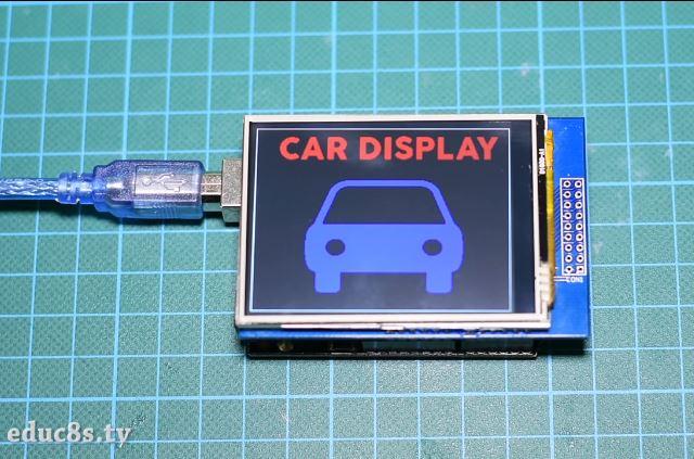 Arduino Bitmap Graphics Tutorial - educ8s tv - Watch Learn Build