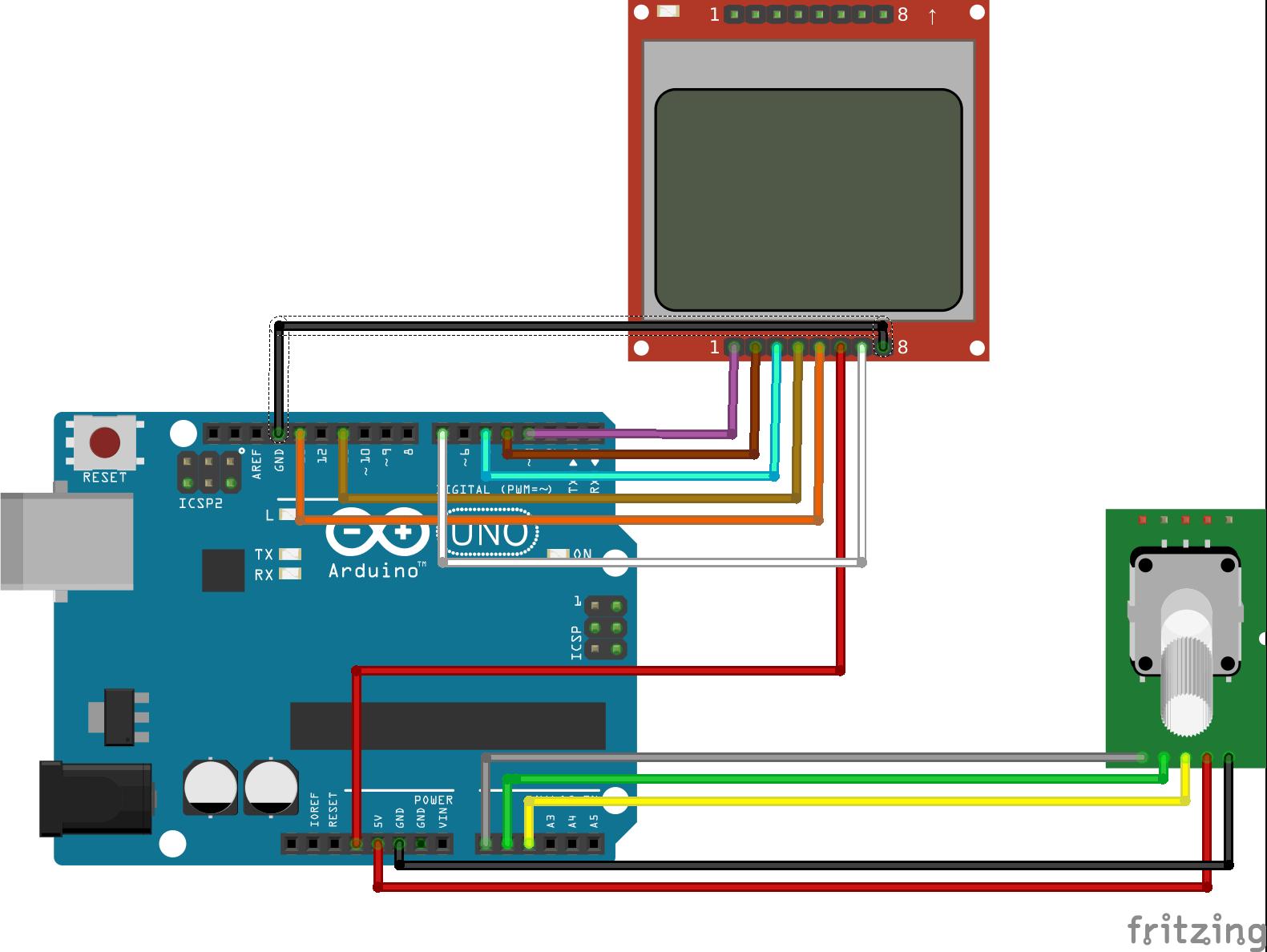 Arduino Rotary Encoder Menu - educ8s tv - Watch Learn Build