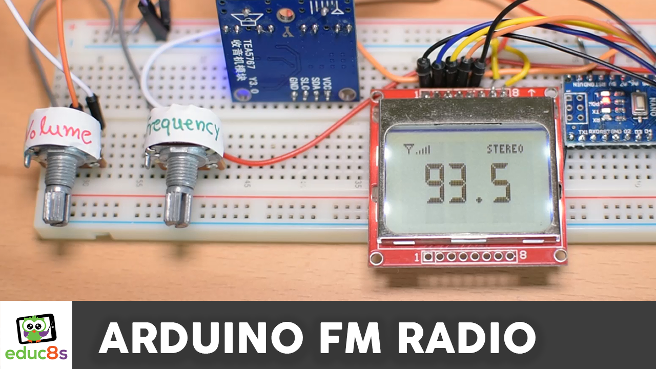 Arduino Fm Radio Project Watch Learn Build Stereofmtransmittercircuitpng